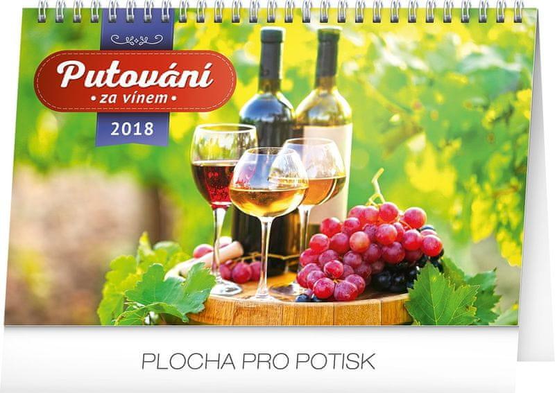 Stolní kalendář Putování za vínem 2018