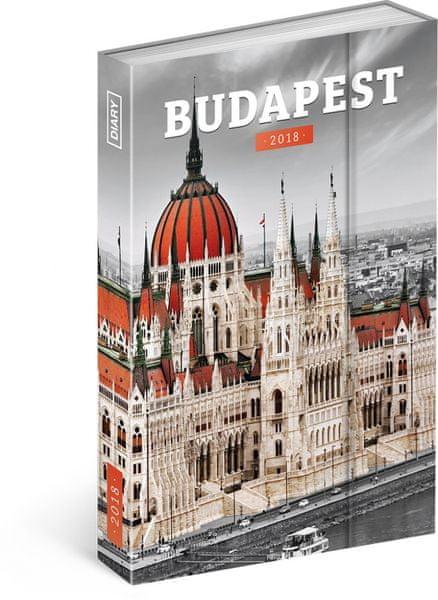 Týdenní magnetický diář Budapešť 2018