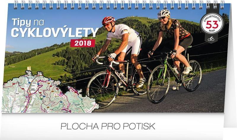 Stolní kalendář Tipy na cyklovýlety 2018