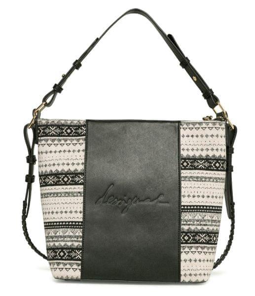 Desigual černá kabelka Lila Astún