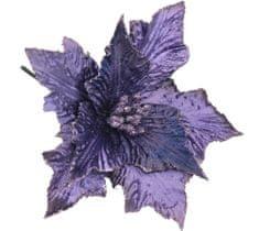 Seizis Květ dekorační tmavě fialový, 21cm, 5ks