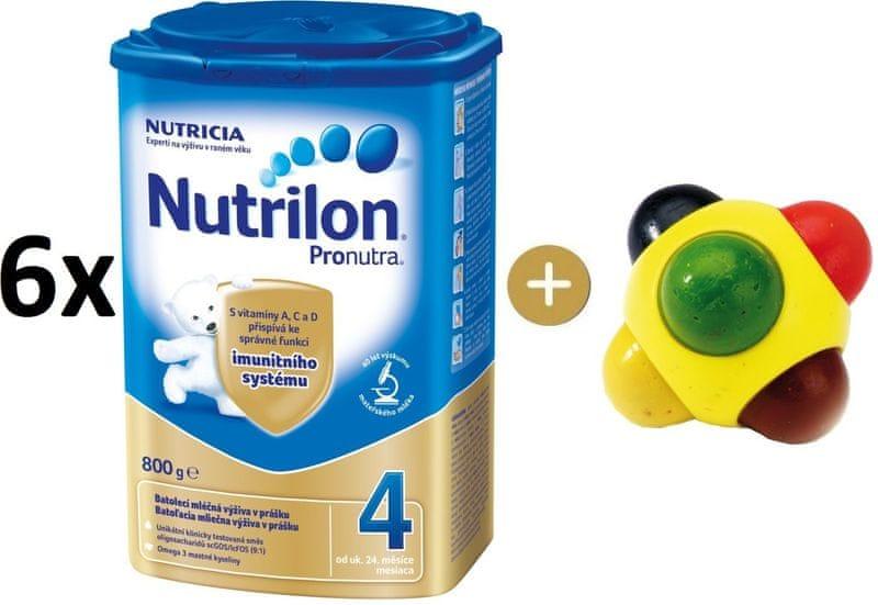 Nutrilon 4 Pronutra - 6×800g + SES Barevná kulička