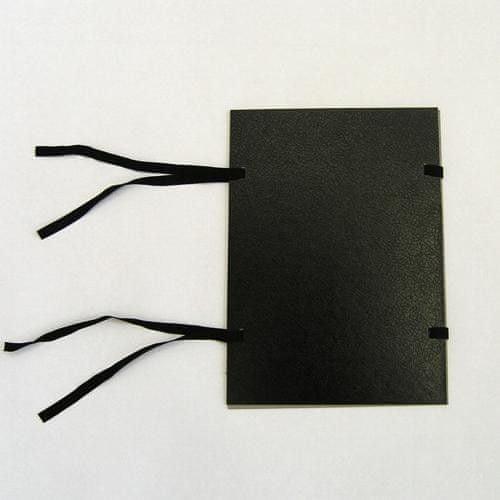 Desky s tkanicí A4 spisové jednostranné černé