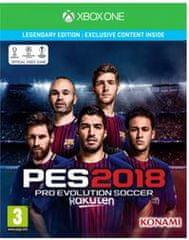 Konami Pro Evolution Soccer 2018 (Xbox One) - Legendary Edition