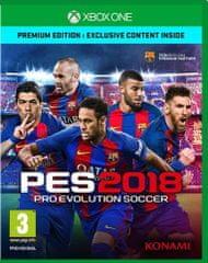 Konami Pro Evolution Soccer 2018 (Xbox One) - Premium Edition