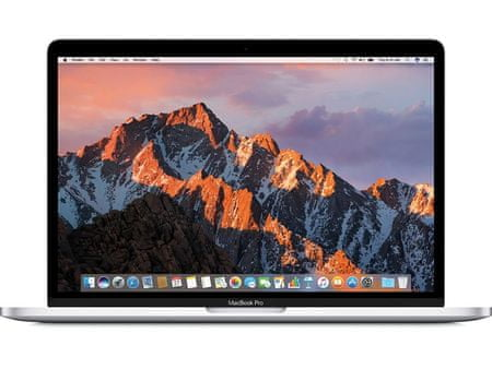 "Apple MacBook Pro 13"" Retina DC i5 2.3GHz/8GB/128GB/Int.Iris 640, Magyar billentyűzet, Ezüst (mpxr2mg/a)"