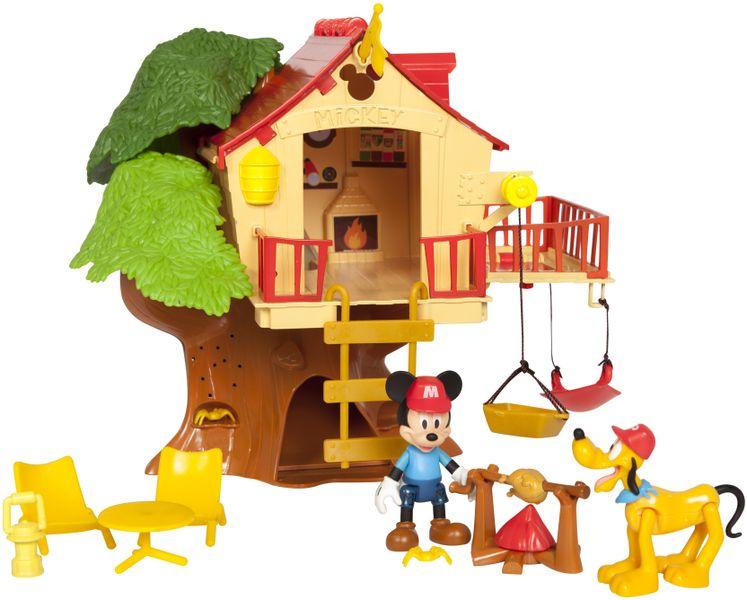 Mikro hračky Mickey Mouse stromový domeček