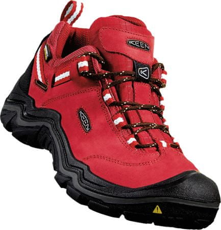 KEEN Wanderer Wp W chilli pepper/gargoyle US 9 (39,5 EU)