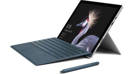 Microsoft tablični računalnik Surface Pro M3-7Y30/4GB/128GBSSD/12,3/W10Pro + tipkovnica (FJT-00004)