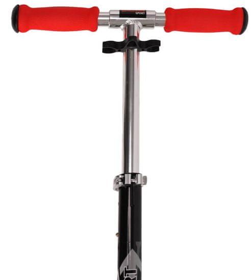 Spartan zložljiv skiro Jumbo I. 200 mm, črno-rdeč