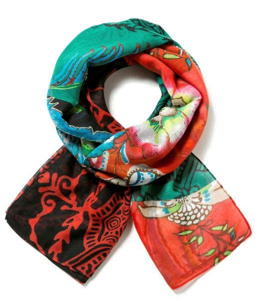 Desigual dámský vícebarevný šátek Foulard