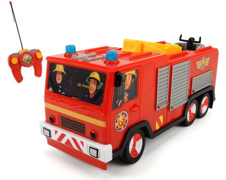 Dickie RC Požárník Sam Hasičské auto Jupiter - rozbaleno