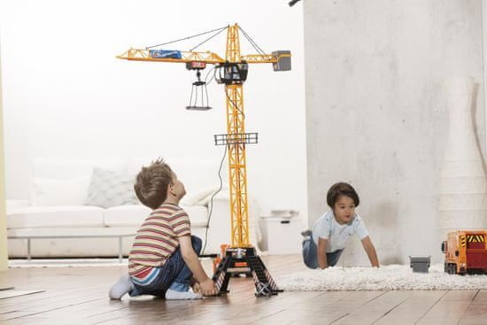 DICKIE Dźwig Mega Crane 120cm