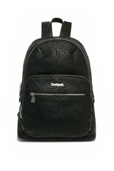 Desigual dámský černý batoh Lima Velvety