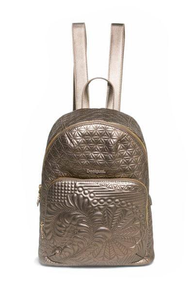 Desigual dámský zlatý batoh Lima Lottie