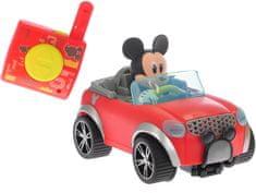 Mikro hračky zabawka zdalnie sterowana Mickey Mouse R/C Cabriolet, 16 cm