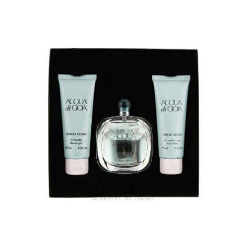 Giorgio Armani Acqua Di Gioia - EDP 50 ml + tělové mléko 75 ml + sprchový gel 75 ml
