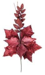 Seizis Květ dekorační bordó, 44cm, 3ks