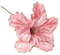 Seizis Květ dekorační světle růžový, 4ks