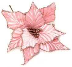 Seizis Květ dekorační růžový, 4ks