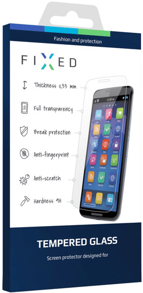 Fixed Ochranné tvrzené sklo, Xiaomi Redmi 4 Note Global, 0.33 mm, bílé