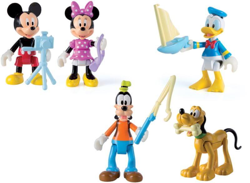 Mikro hračky Mickey Mouse Clubhouse figurka kloubová 8 cm - 6 druhů