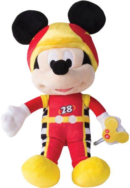 Mikro hračky Mickey Mouse závodník plyšový 30cm
