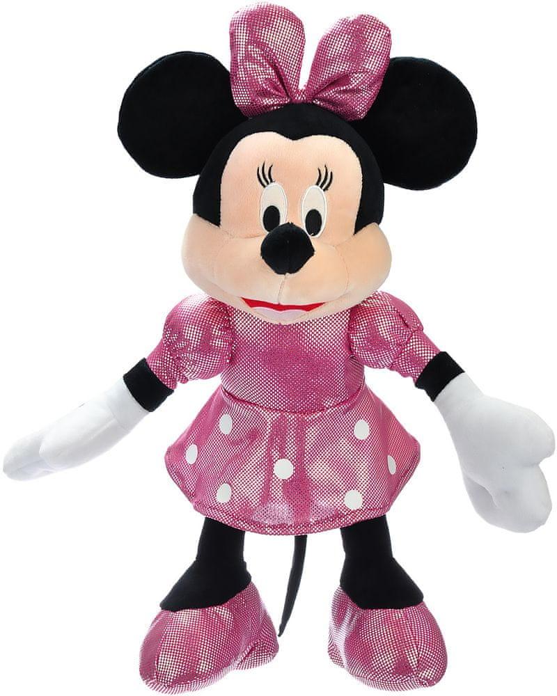 Mikro hračky Minnie třpytivá plyšová 40cm