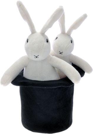 Mikro hračky Bob 25cm a Bobek 20cm plyšoví s kloboukem