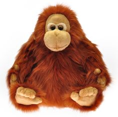 Mikro hračky Orangutan plyšový 30cm sedící