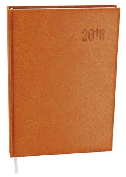 Diář denní Ctirad Vivella A5 oranžový