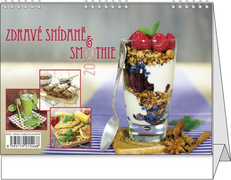 Kalendář stolní žánr. týdenní Zdravé snídaně&smoothie