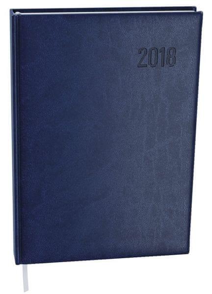 Diář denní Ctirad Vivella A5 modrý