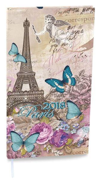 Diář denní Filip Lamino kapesní Paříž