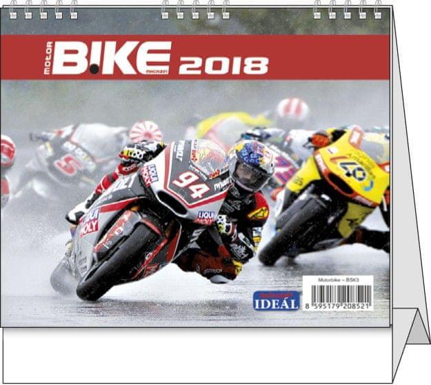 Kalendář stolní Ideál Motorbike