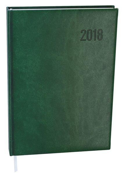 Diář denní David Vivella plus A5 tmavě zelený