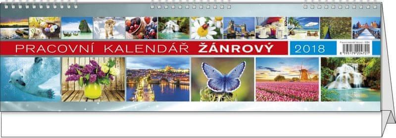 Kalendář stolní pracovní Žánrový