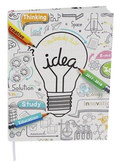 Diář školní týdenní Student Lamino idea
