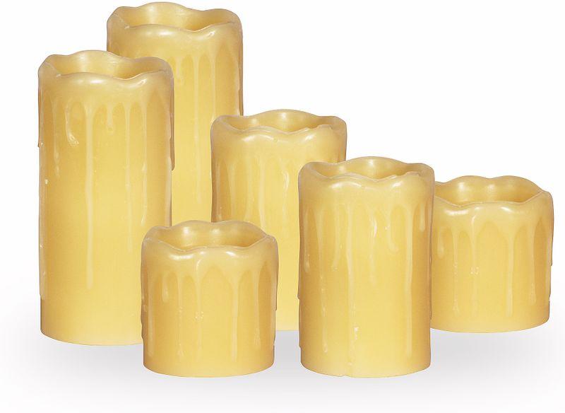 Time Life LED svíčky - sada 6 ks