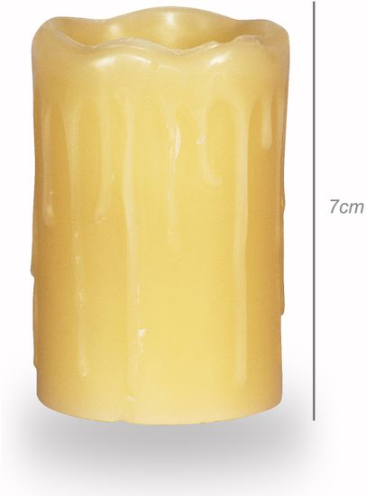 TimeLife LED sviečky - súprava 6 ks
