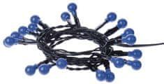 EMOS vnútorná reťaz Cherry s časovačom 20LED, modrá