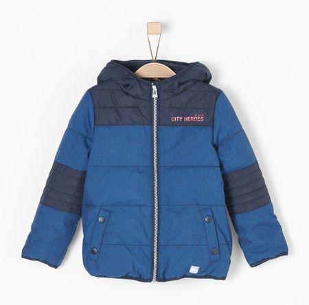 s.Oliver chlapčenská bunda 128 modrá