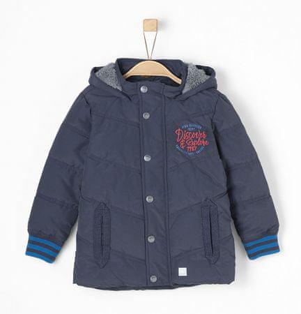 s.Oliver chlapčenská bunda 104 modrá