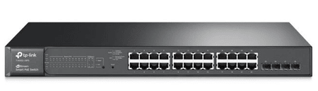 TP-Link mrežno stikalo JetStream TL-T1600G-28PS, 24-port