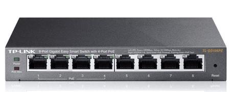TP-Link gigabitno mrežno stikalo TL-SG108PE, 8-portno