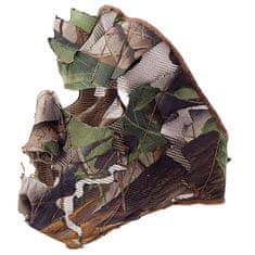 Swedteam Wood™ Leaf Camo obličejová maska