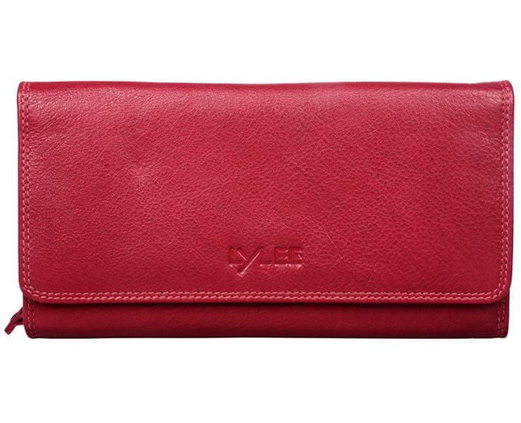 LYLEE Dámská kožená peněženka Ellie Red