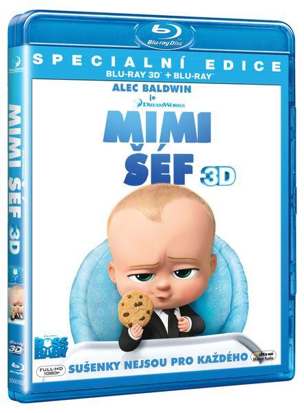 Mimi šéf 3D+2D (2BD) - Blu-ray