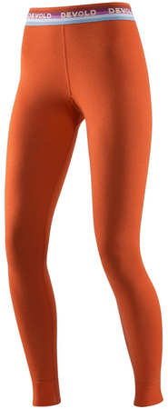Devold Hiking Woman Long Johns Brick L