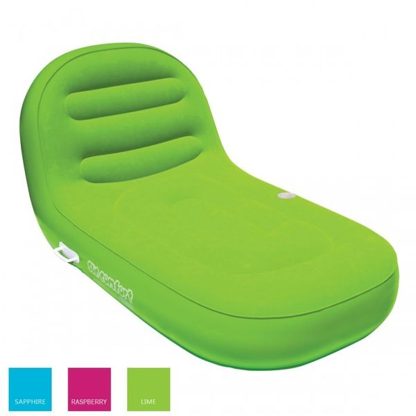 "KWIKTEK Lehátko nafukovací ""SunComfort Cool Suede Chaise Lounge"", zelená"